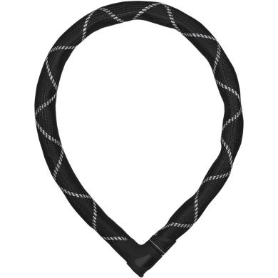 Abus Iven Steel O Flex 8200 Zapięcie rowerowe z zamkiem czarne