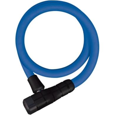 Abus Primo 5412 85cm Zapięcie rowerowe linka z zamkiem blue
