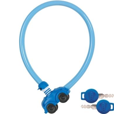 Abus My first 1505 Zapięcie rowerowe linka z zamkiem 55cm niebieska