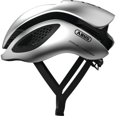Abus GameChanger Kask rowerowy szosowy gleam silver