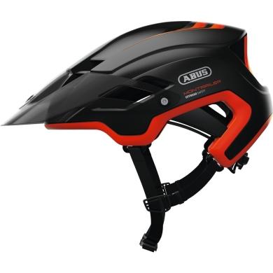 Abus MonTrailer Kask rowerowy MTB shrimp orange