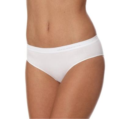 Brubeck Hipster Comfort Cotton Majtki damskie białe