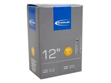 Schwalbe DV 1 Dętka 12 cali wentyl Dunlop 32mm