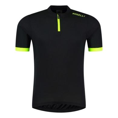 Rogelli Perugia 2.0 Koszulka rowerowa z krótkim rękawem czarna