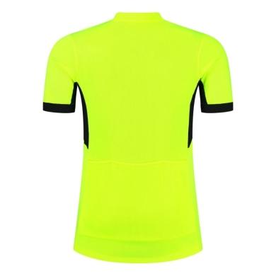 Rogelli Perugia 2.0 Koszulka rowerowa z krótkim rękawem żółta