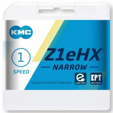 KMC Z1eHX EPT Łańcuch 1 rzędowy 112 ogniw + spinka