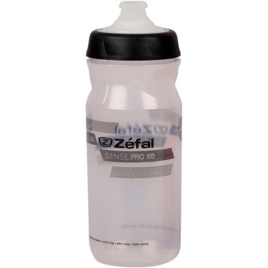Zefal Sense Pro 65 Bidon rowerowy 650ml przezroczysto czarny