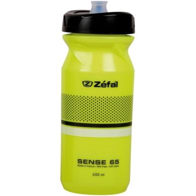 Zefal Sense M65 Bidon rowerowy 650ml neonowy żółty z białym