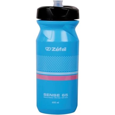 Zefal Sense M65 Bidon rowerowy 650ml neonowy niebieski z różowym