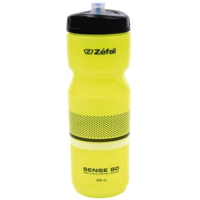 Zefal Sense M80 Bidon rowerowy 800ml neonowy żółty z białym