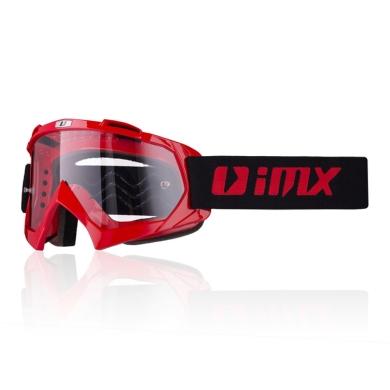 IMX Mud Gogle Czerwone
