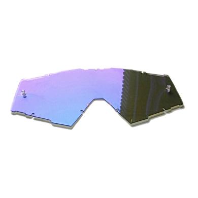 IMX Sand Blue Iridium Szyba wymienna do gogli rowerowych MTB FR DH