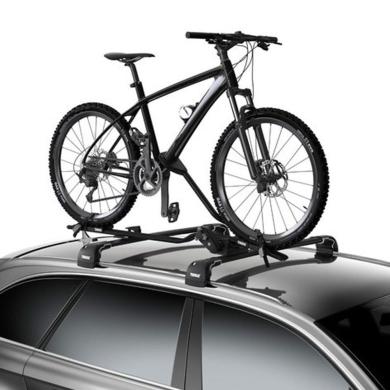 Bagażnik Dachowy Thule ProRide 598 Zestaw bagażników uchwytów rowerowych na dach za ramę srebrny