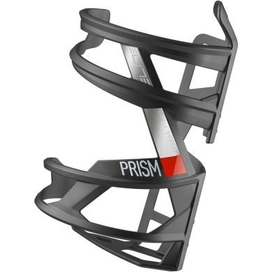 Elite Prism Carbon Koszyk na bidon lewy matowy czerwony