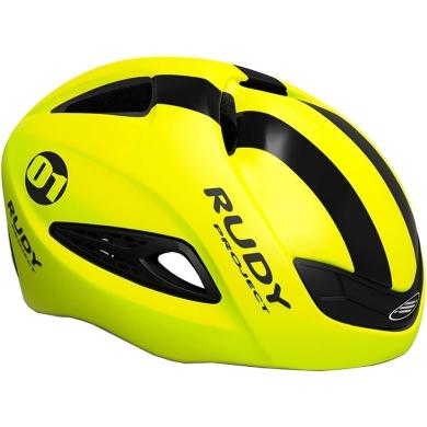 Rudy Project Boost 01 Kask szosowy triathlon Yellow Fluo Black Matte