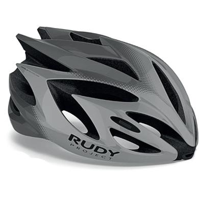 Rudy Project Rush Kask szosowy MTB Grey titanium shiny