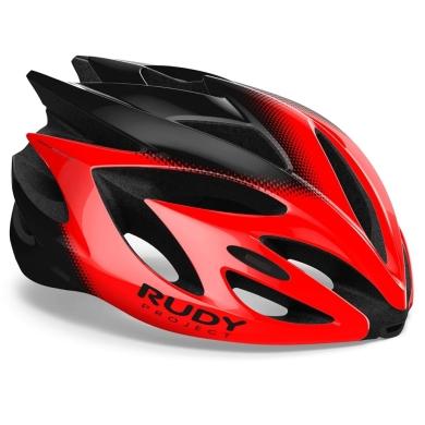 Rudy Project Rush Kask szosowy MTB Red black shiny