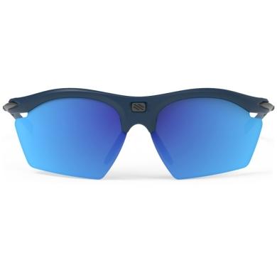 Rudy Project Rydon Slim RP Optics Okulary szosowe triathlon MTB biegowe granatowo niebieskie