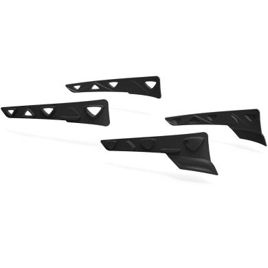 Rudy Project Peripheral Shields Set Zestaw gumowych wstawek bocznych black