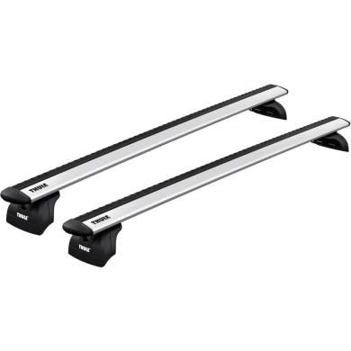 Bagażnik Dachowy Thule WingBar Evo Seat Leon ST 5-dr Kombi 2014- zintegrowane relingi srebrny
