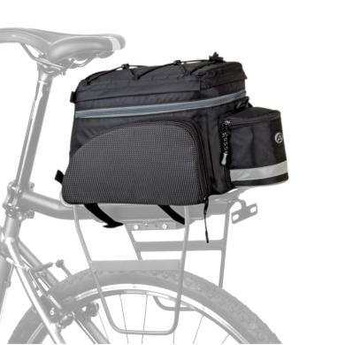Author A-N441 X9 Torba rowerowa tylna na bagażnik 15-20L