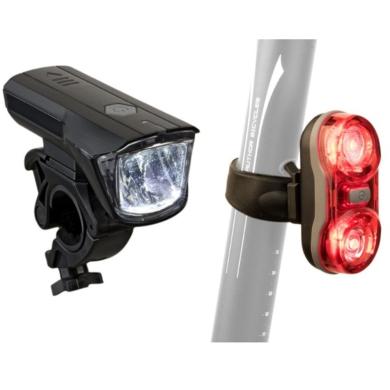 Author X-Ray / Duplex X7 Zestaw lamp do roweru przednia i tylna