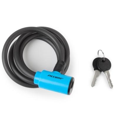 Accent Key Lock Zapięcie do roweru linka na kluczyk 10mm x 120cm