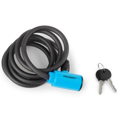Accent Key Lock Zapięcie do roweru linka na kluczyk 10mm x 180cm