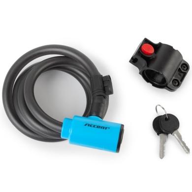 Accent Key Lock Zapięcie do roweru linka na kluczyk 12mm x 120cm