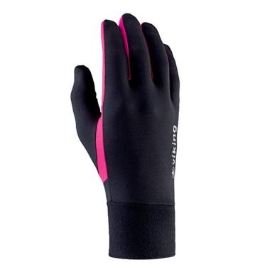 Rękawiczki Viking Runway czarno różowe