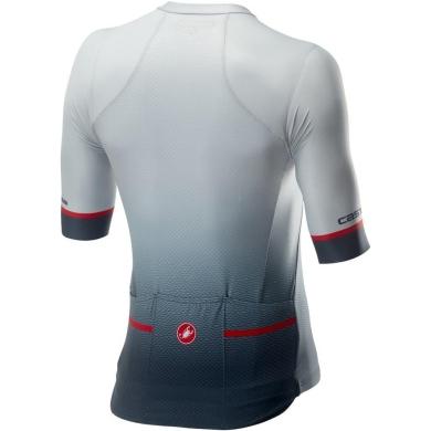 Castelli Aero Race 6.0 Koszulka rowerowa silver grey