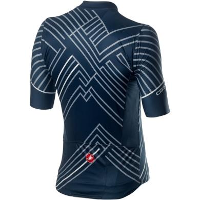 Castelli Passo Koszulka rowerowa dark infinity blue