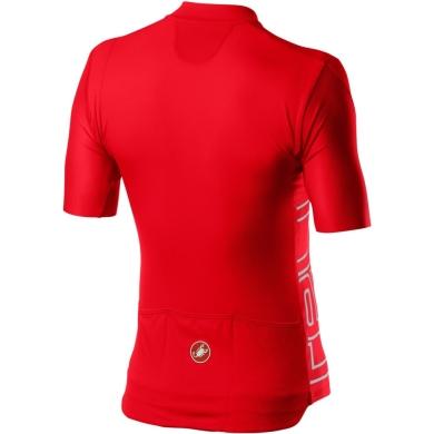 Castelli Entrata V Koszulka rowerowa fiery red