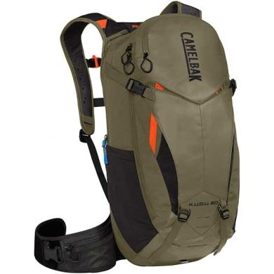Camelbak K.U.D.U. PROTECTOR 20 Plecak rowerowy z ochraniaczem pleców S/M oliwkowy