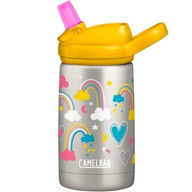 Camelbak Eddy+ Kids Kubek termiczny dla dzieci 350ml srebrno żółty