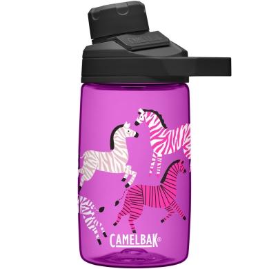 Camelbak Chute Mag Butelka podróżna 400ml różowa w zebry