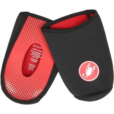 Castelli Toe Thingy 2 Ochraniacze na buty na rower czarno czerwone