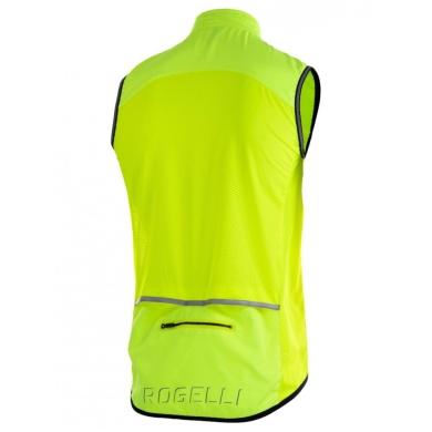 Rogelli Move Kamizelka rowerowa żółta