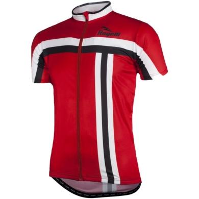 Rogelli Brescia Koszulka rowerowa czerwona