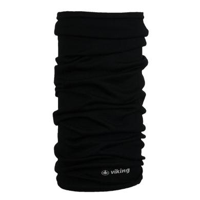 Viking Merino Regular Bandana chusta czarna