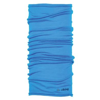 Viking Merino Regular Bandana chusta niebieska