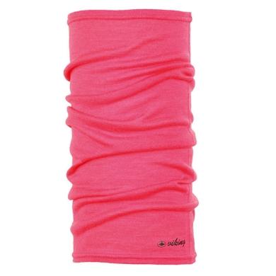 Viking Merino Regular Bandana chusta różowa