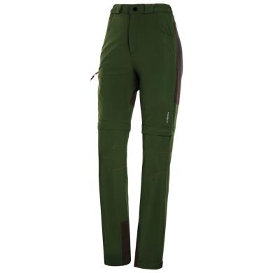 Viking Lady Oregon Spodnie trekkingowe damskie 2w1 zielone
