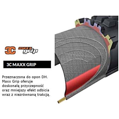 Maxxis Assegai 27,5x2,50WT 2x60tpi 3CMG Opona zwijana bezdętkowa TR DH