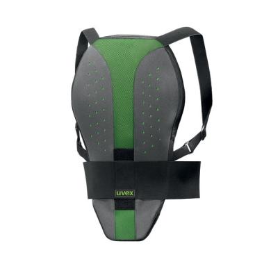 Uvex P.GR 5 Flex Ochraniacz kręgosłupa zielono szary