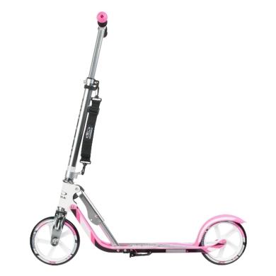 Hudora Big Wheel 205 Hulajnoga miejska różowo srebrna
