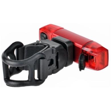 ProX Mizar Lampka rowerowa tylna 2x SMD LED 30 Lm aku USB