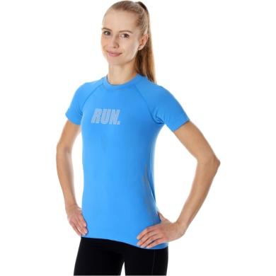 Brubeck Running Air PRO Koszulka damska z krótkim rękawem jasnoniebieska