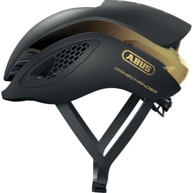 Abus GameChanger Kask rowerowy szosowy black gold