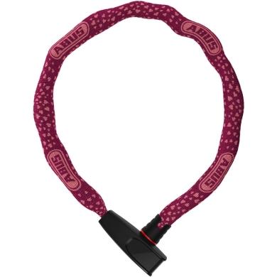 Abus Catena 6806 75cm Zapięcie rowerowe łańcuch z zamkiem cherry